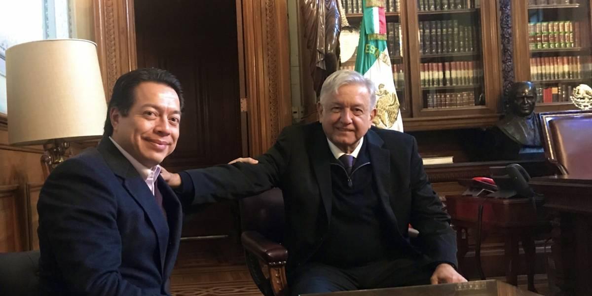 AMLO y Mario Delgado dialogan sobre el Presupuesto 2019