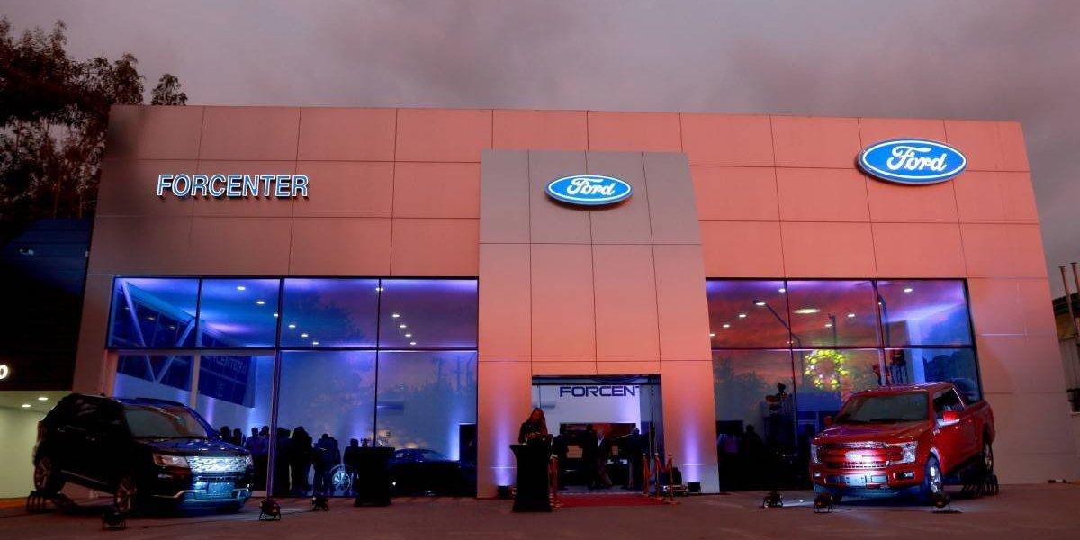 Ford abre nuevo local de Forcenter en Puente Alto