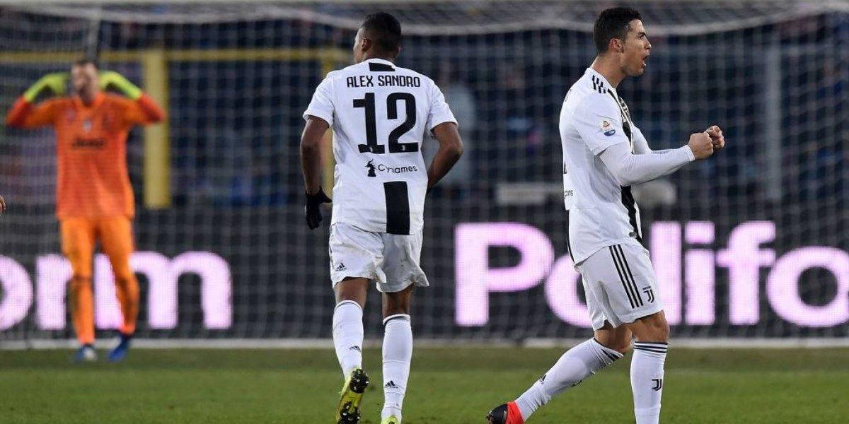 Cristiano Ronaldo salió desde el banco para salvar el invicto de Juventus en el Boxing Day del Calcio