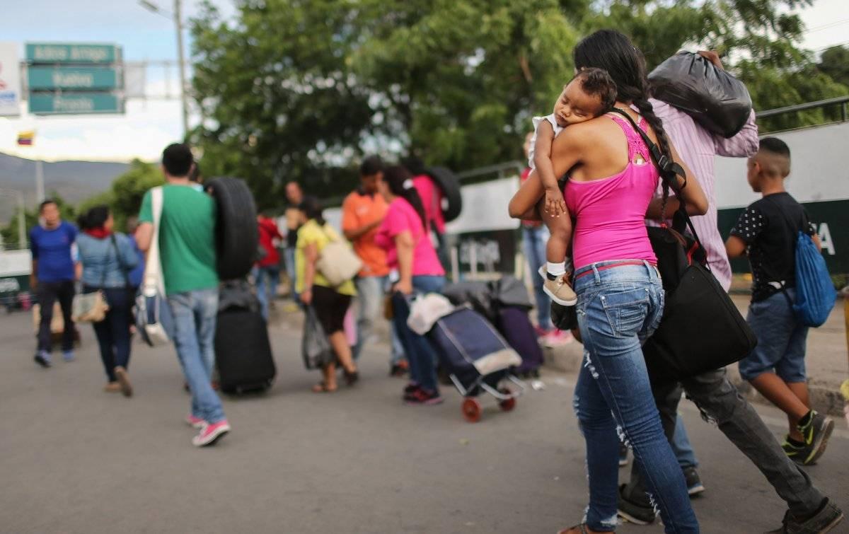 Crisis migratoria en Venezuela