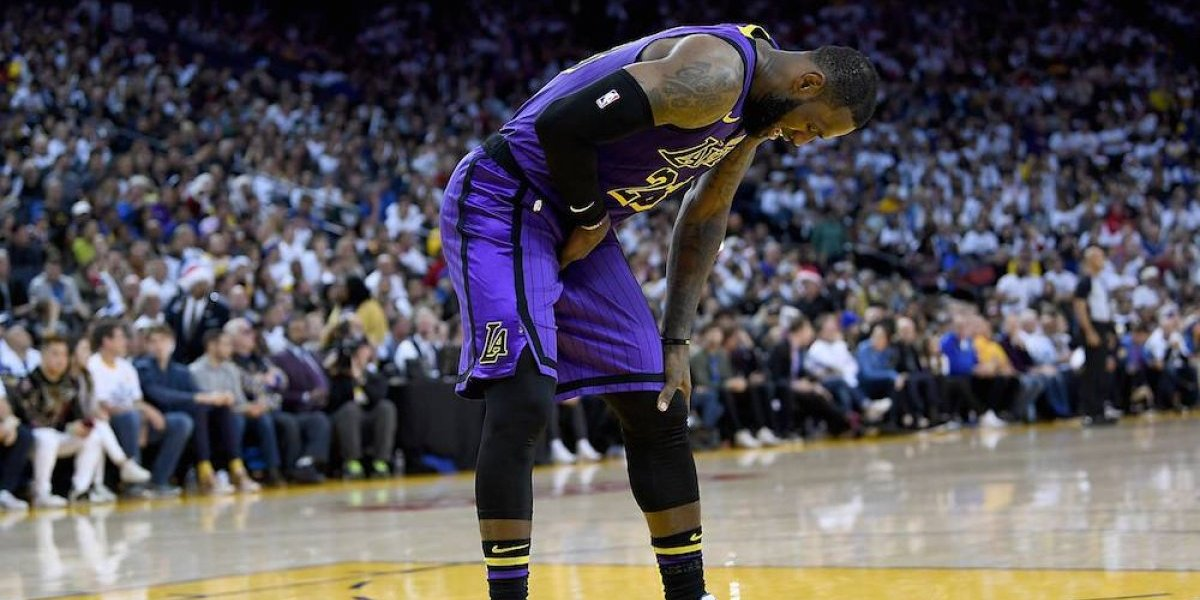 LeBron y sus Lakers le pegan a Golden State
