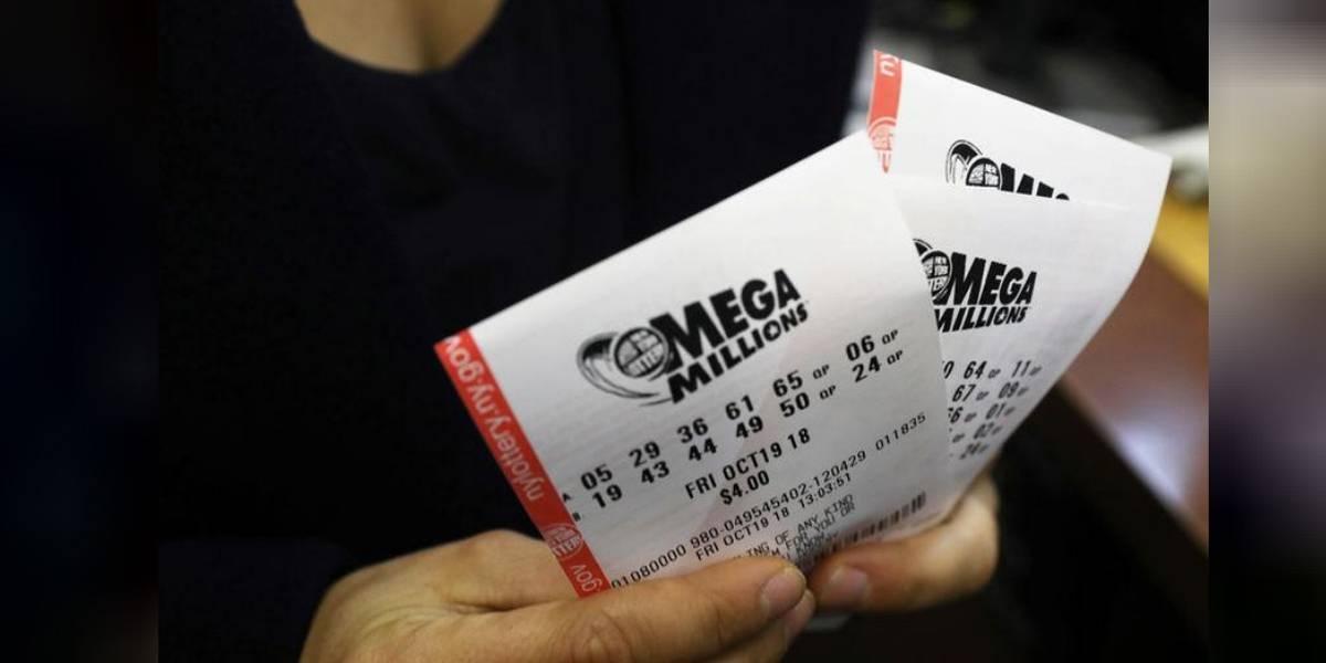 Ninguém acerta números de loteria Mega Millions nos EUA; prêmio sobe para R$ 1,36 bilhão