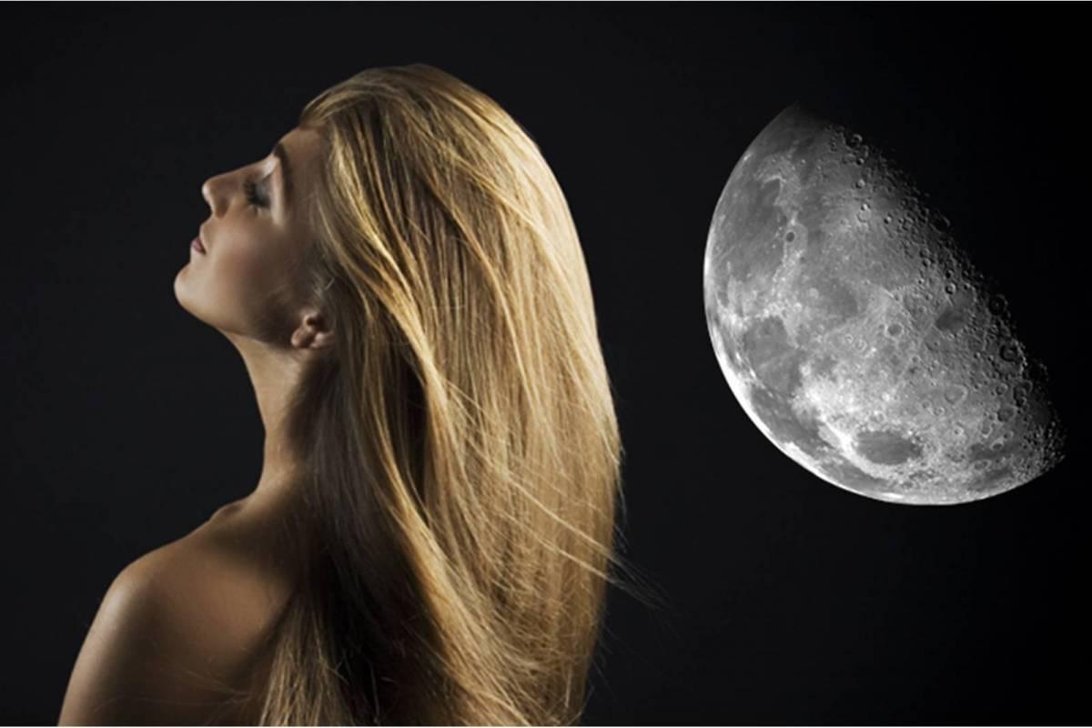 Fases lunares y corte de pelo