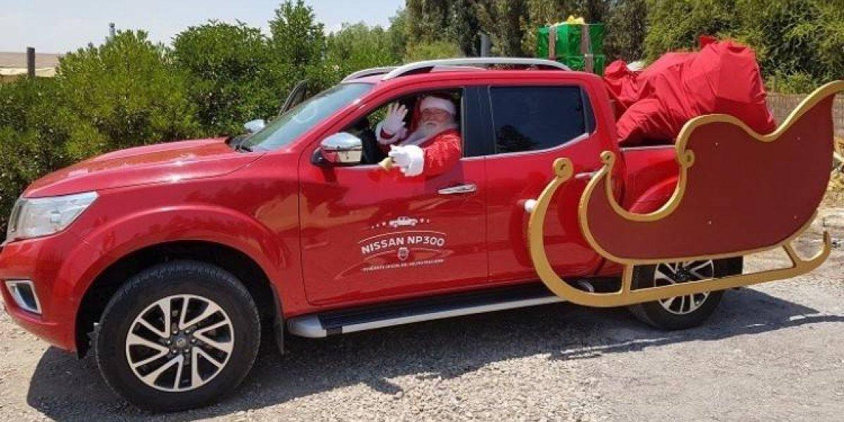 Nissan celebra la Navidad con niños de Pudahuel