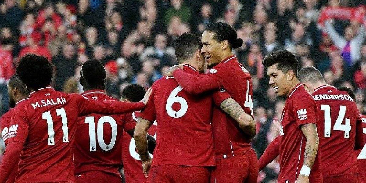 """Liverpool hace soñar a su afición y sale más líder del """"Boxing Day"""""""