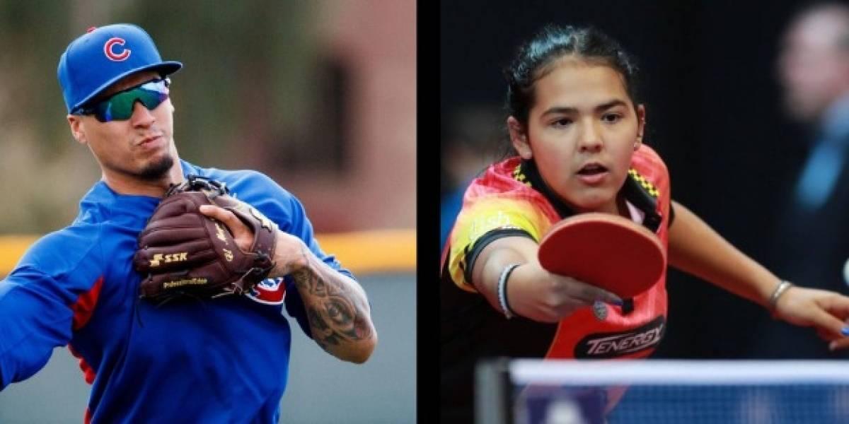 """Pelotero Javier Báez y Adriana Díaz son escogidos como """"Atletas del Año 2018"""""""
