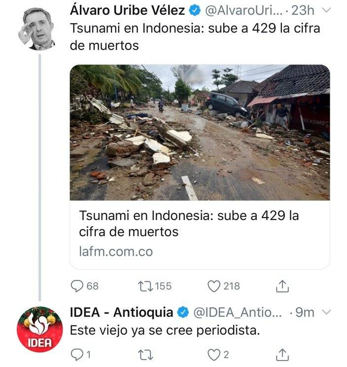 Uribe/tsunami