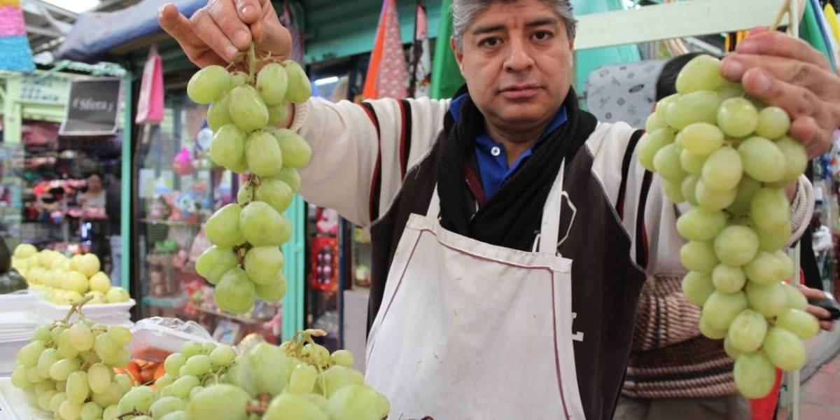 Uvas, hasta 120 pesos el kilo para el festejo de Año Nuevo