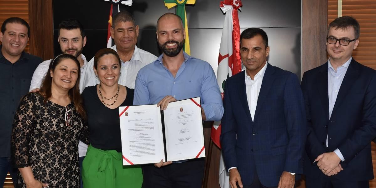 'Reforma da Previdência Municipal é justa e necessária', diz Bruno Covas durante sanção do projeto