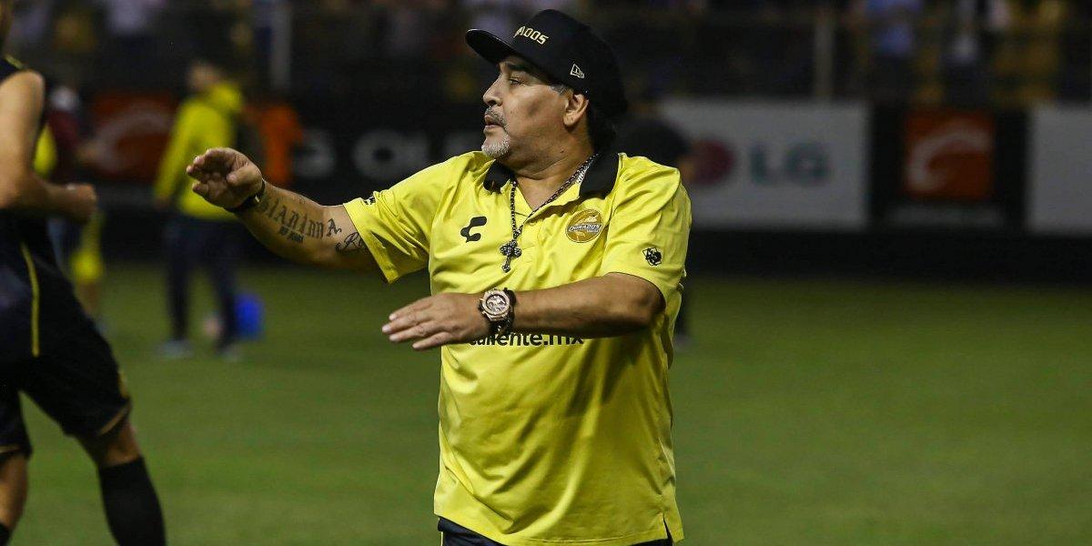 Maradona está 'desaparecido', aún no reporta a pretemporada con Dorados