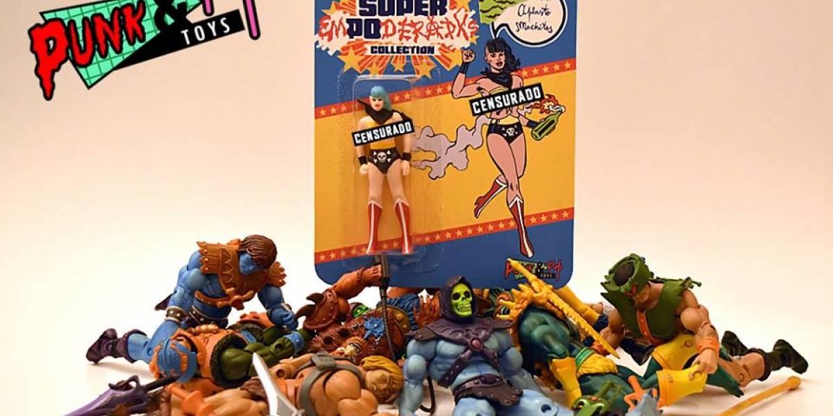 Punk & Pop Toys: Femininja, Tarot Wars y el desviado Pony lideran estos juguetes de culto argentinos