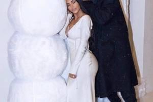 Kim Kardashian e família
