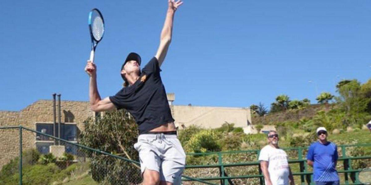 Nicolás Jarry ya está en Doha para iniciar la nueva temporada de la ATP