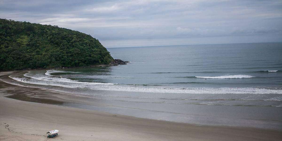 Veja a situação das praias de Bertioga para o Ano Novo