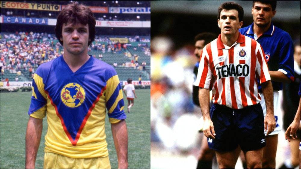 Aguirre también surgió de las básicas del América con quienes ganó el título de la Temporada 1983-84. Curiosamente terminó su carrera como jugador del Guadalajara. / Especial