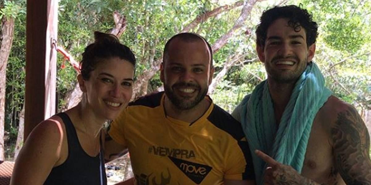 Alexandre Pato assume namoro com filha de Silvio Santos