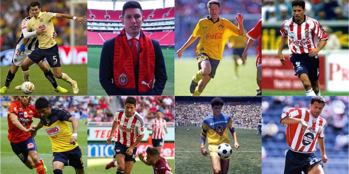 Jugadores que han pasado de América a Chivas