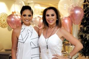 De branco para inspirar o ano novo, Anne Zorzanelli e Raigna Vasconcelos