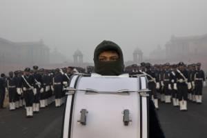Contaminación en Nueva Delhi, en la India