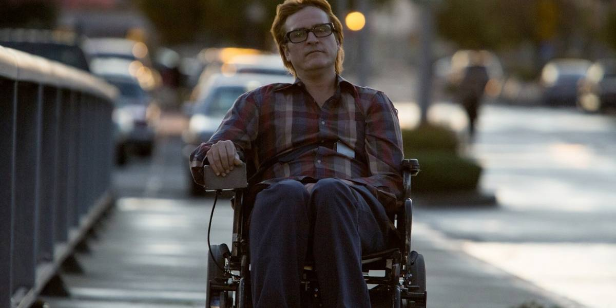A Pé Ele não Vai Longe: Joaquin Phoenix estrela filme sobre superação