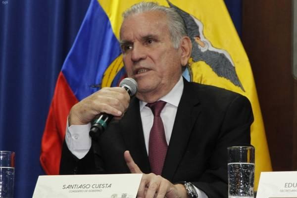 Santiago Cuesta confirma que el precio del diésel subirá a partir del 15 de enero del 2019