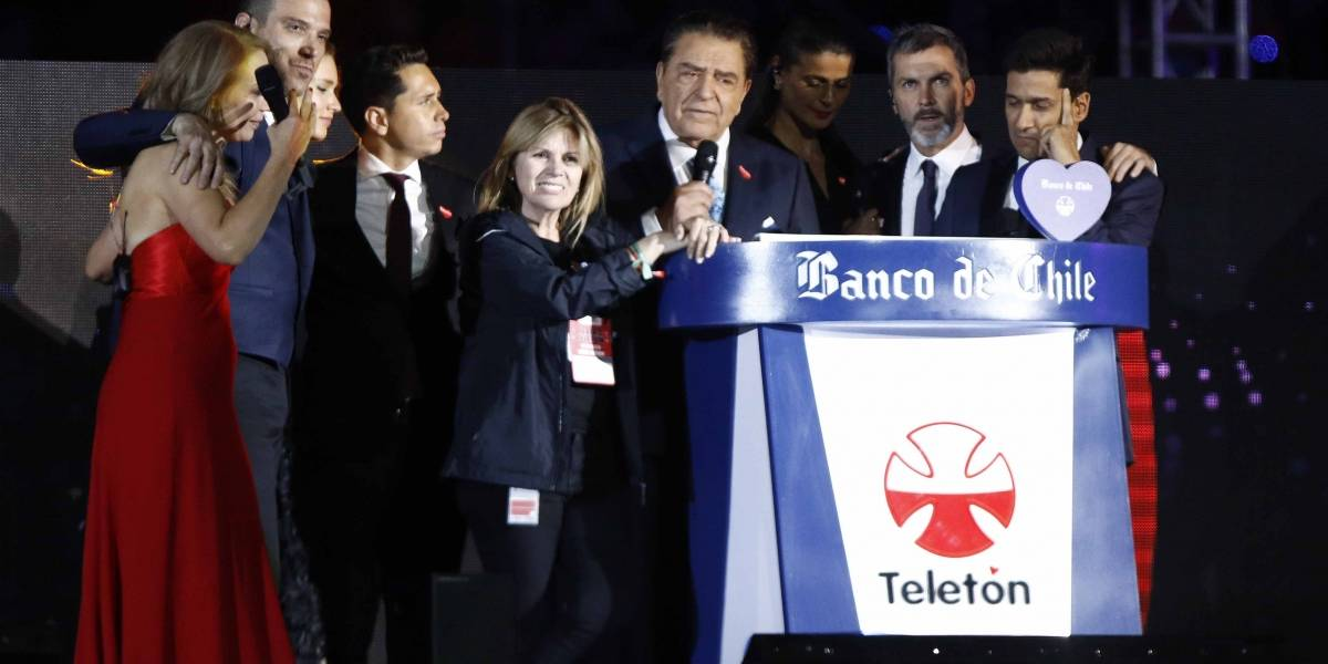 Teletón 2018: computo final superó los 37 mil millones y aporte de las personas significó el 74,4% del monto