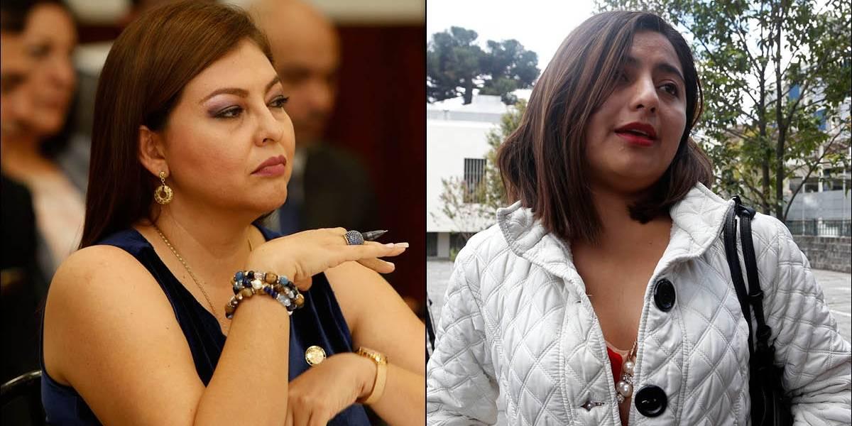 Fiscalía formuló cargos contra Sofía Espín y Yadira Cadena por presunto delito de tráfico de influencias