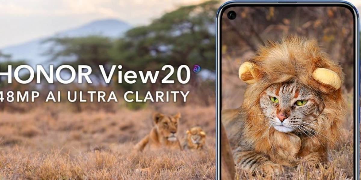 Honor anuncia oficialmente o View 20 com câmera de 48 megapixels