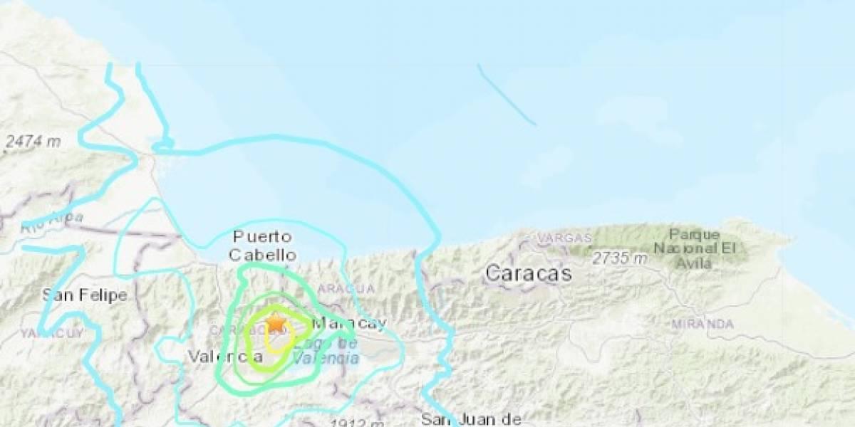 Fuerte sismo de 5,5 remece a Venezuela y provoca temor en la población