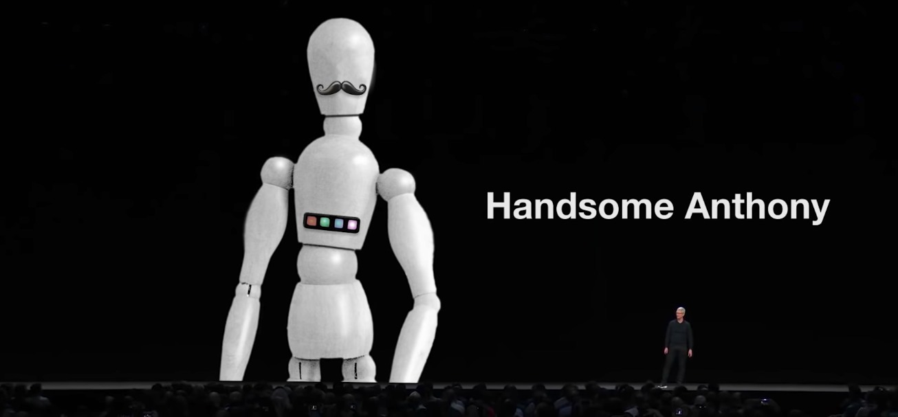 handsome anthony