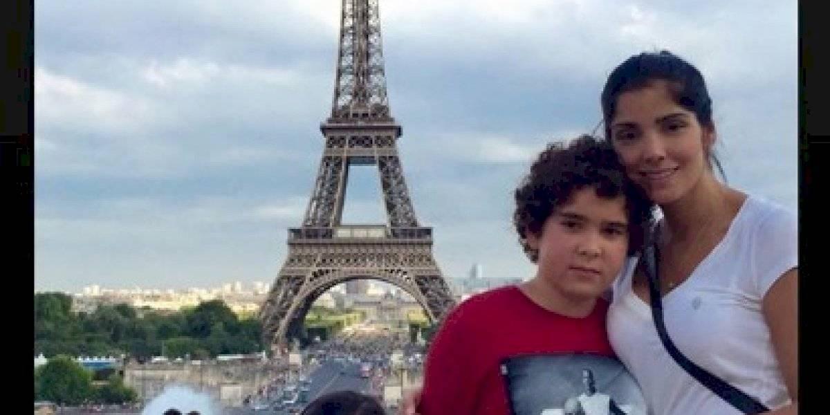 Hijo de Fredy Guarín encontró maestro de fútbol... ¡El novio de Andreina Fiallo!