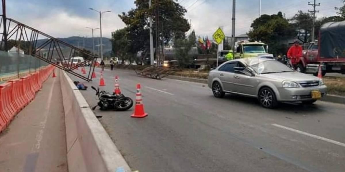 Fuerte congestión en la vía Bogotá- Girardot por trágico accidente