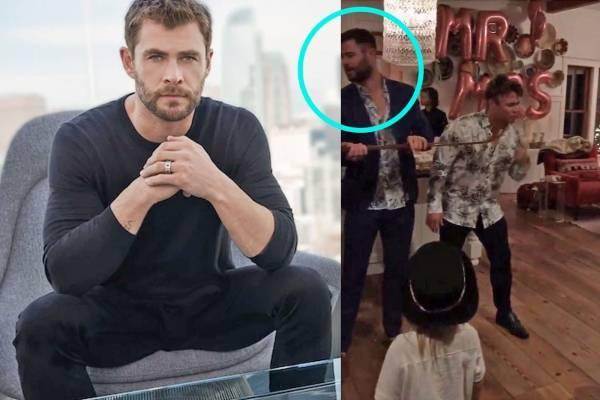 Chris Hemsworth Si Asistio A La Boda Secreta De Su Hermano Con Miley