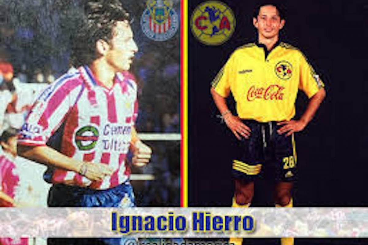 Nacho Hierro debutó con el América en 1997 y dos años después fue traspasado a Chivas. A la afición tapatía no le agradó mucho el cambio. / @realidadamerica