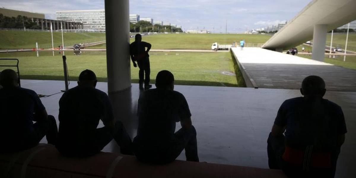 Preparativos para a posse de Bolsonaro movimentam Congresso; veja fotos
