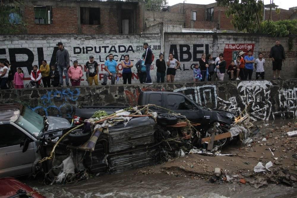 Inundaciones en Guadalajara