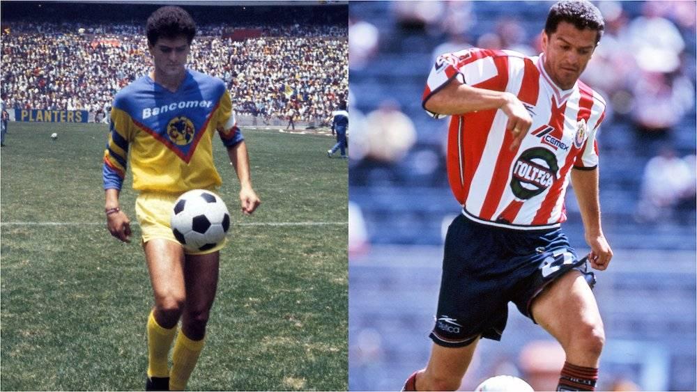Aunque Carlos Hermosillo fue figura del Cruz Azul, inició su carrera como americanista y la terminó como atacante de las Chivas. / Mexsport