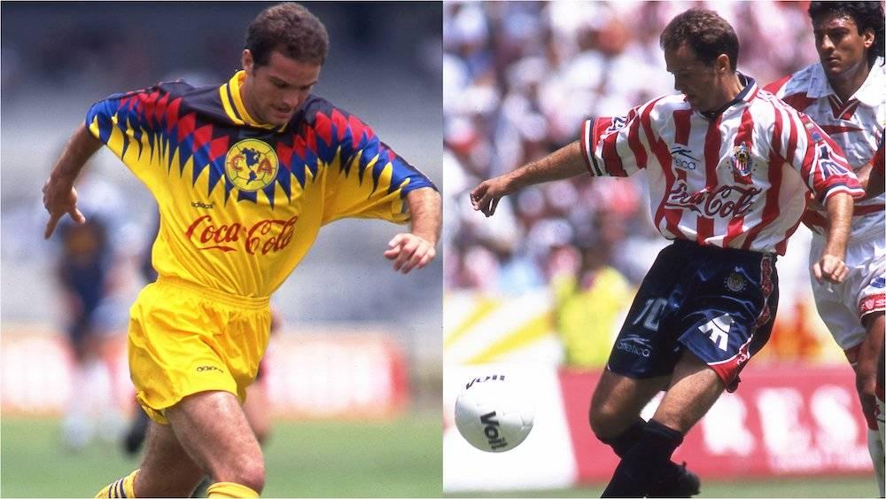 Después de su aventura por Europa, Luis García regresó al futbol mexicano contratado por el América. Un año después pasó a Chivas donde se quedó cerca de ganar el título. En ambos cuadros fue aceptado por la afición. / Mexsport