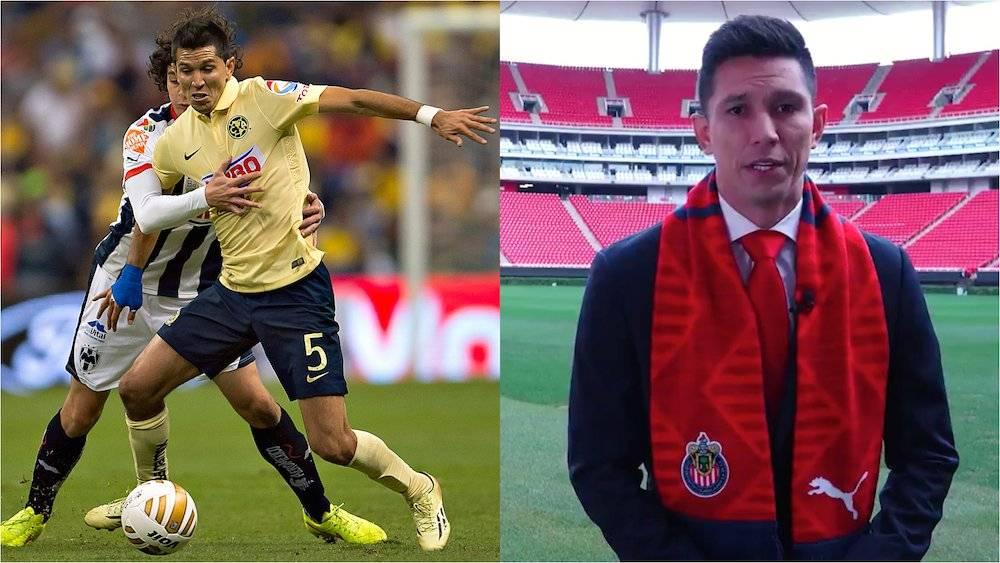En alguna ocasión Jesús Molina declaró que el equipo de sus amores era el América. Ahora es refuerzo de Chivas para el Clausura 2019. / Especial