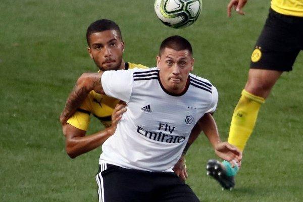 Nicolás Castillo no lo pasa bien en Benfica / Foto: AP