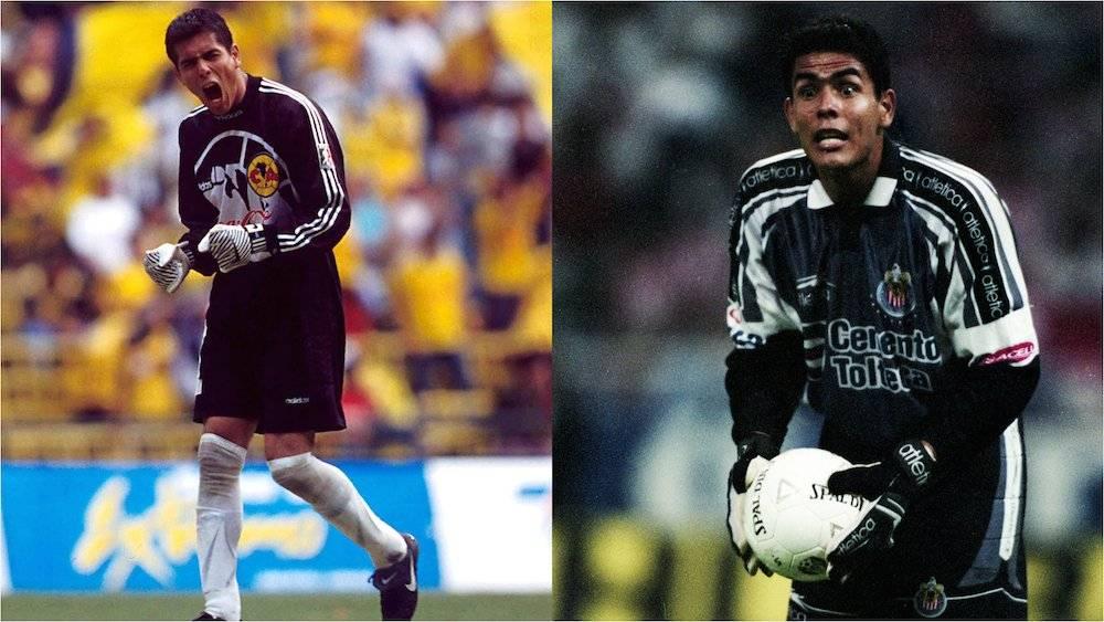Después de su paso por Atlas, Oswaldo Sánchez fure a jugar para el América con desgraso pues deseaba ir a Chivas. Años después se cumplió su sueño y se convirtió en todo un símbolo del Guadalajara. / Mexsport