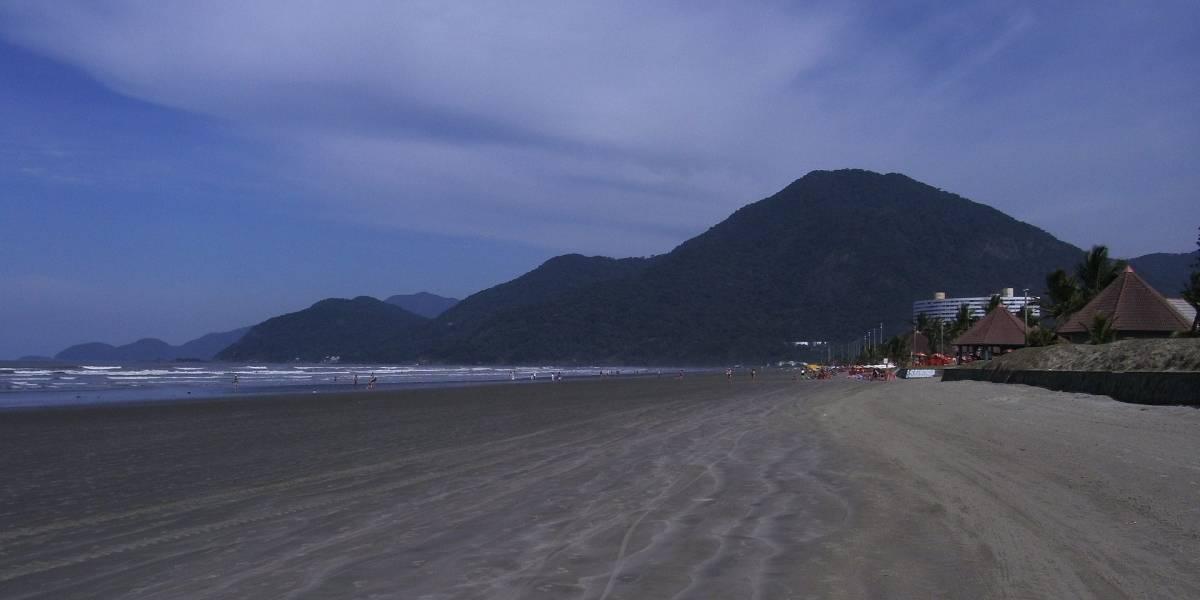 Veja a situação das praias de Peruíbe para o Ano Novo