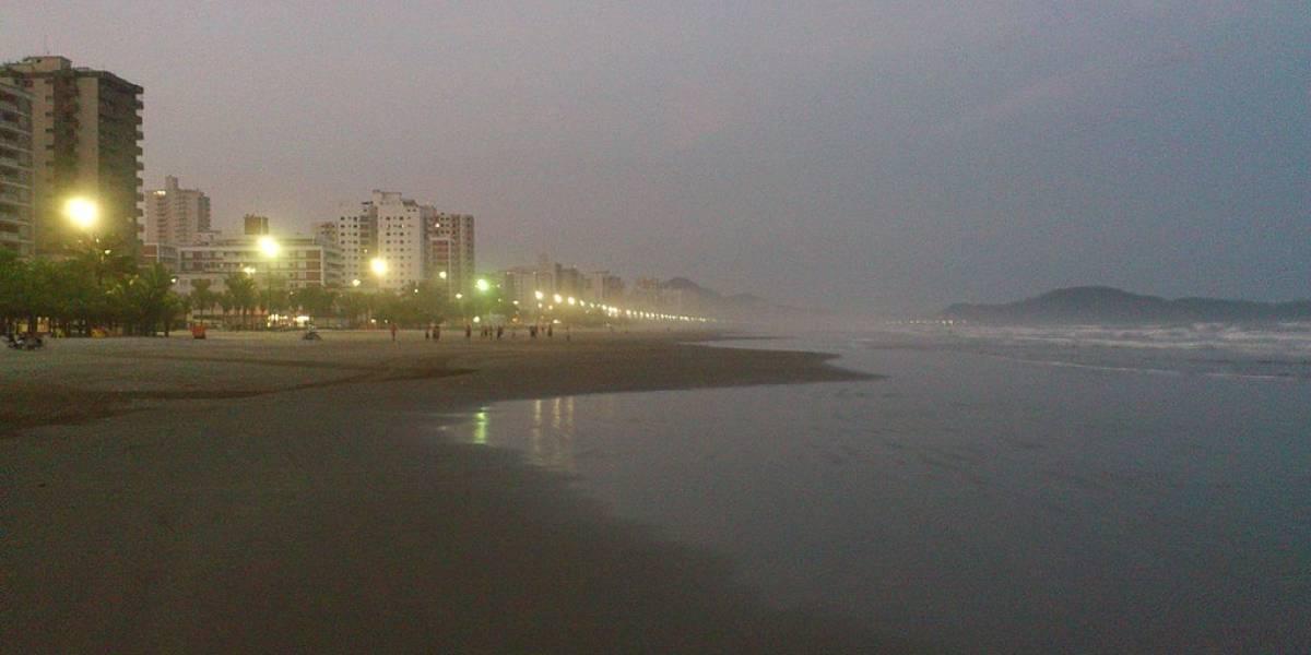 Veja a situação das praias de Praia Grande para o Ano Novo