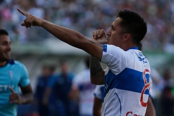Jaime Carreño renovó con la UC hasta fines de 2010, pero podría jugar a préstamo durante el 2019 / Foto: Photosport