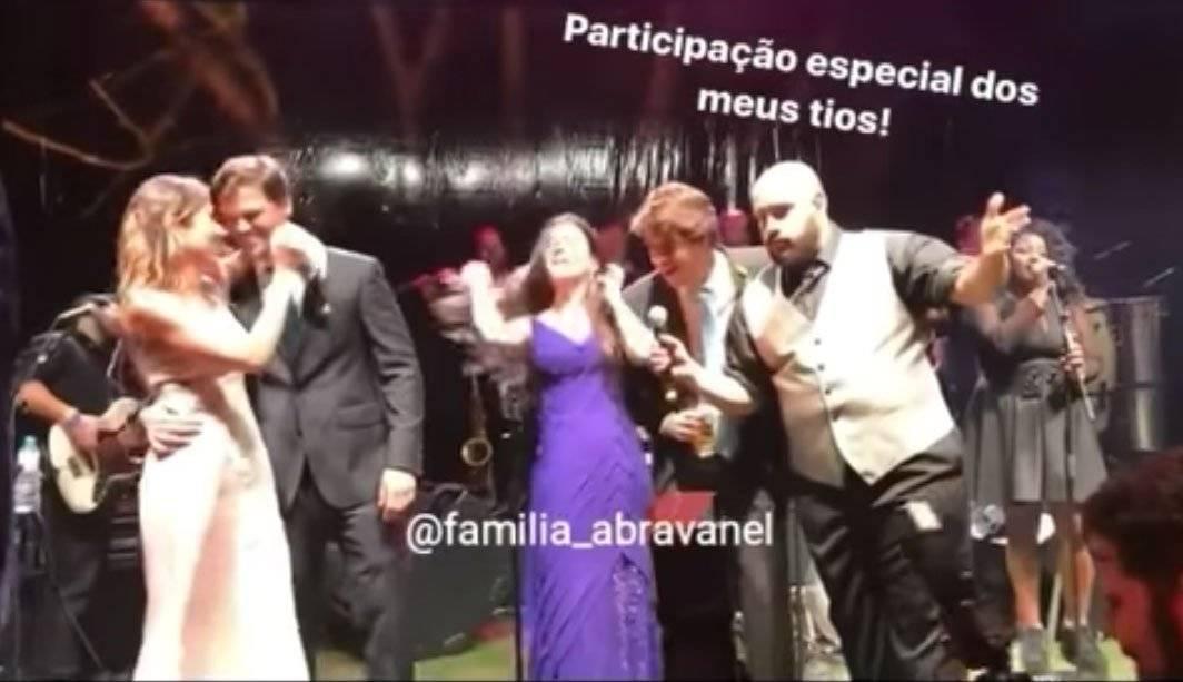 Rebeca Abravanel e Marcelo Brennand