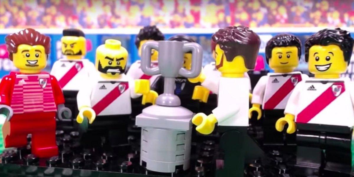VIDEO: Reviven campeonato de River en la Libertadores con figuras de Lego