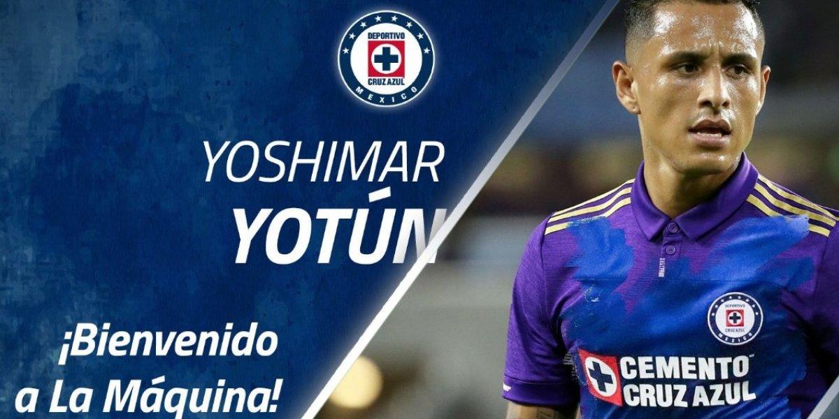 OFICIAL: Yoshimar Yotún es nuevo jugador de Cruz Azul