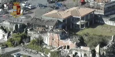 Sobrevuelo terremoto Sicilia