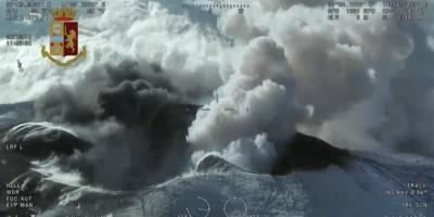 Sobrevuelo volcán Etna