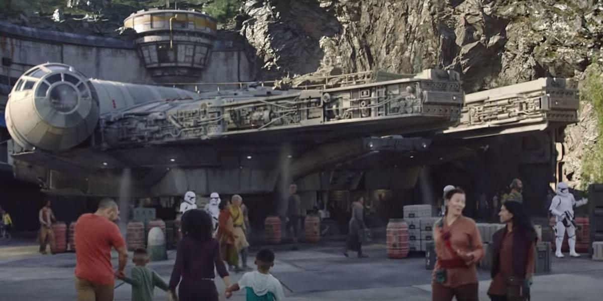 Disney lanza espectacular video de su parque temático Star Wars: Galaxy